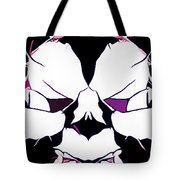 Total Eclipse Of The Rose Abstract Tote Bag
