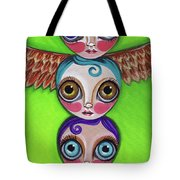 Totem Dolls Tote Bag
