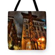 Totem In The City Tote Bag