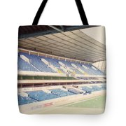 Tottenham - White Hart Lane - West Stand 4 - April 1991 Tote Bag