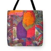 Toucan Batik Tote Bag