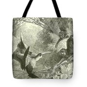 Toucans And Monkeys Tote Bag