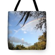 Touch A Rainbow  Tote Bag