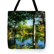 Touch Of Autumn Tote Bag