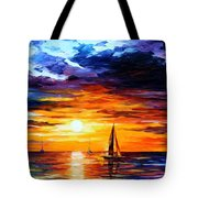 Touch Of Horizon Tote Bag