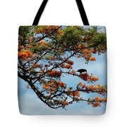 Touch Of Orange Tote Bag