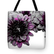 Touch Of Pink Mums Tote Bag