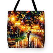 Touch Of Rain Tote Bag