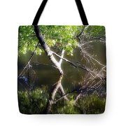 Touch Of Silence Tote Bag