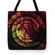 Touch Of Sunshine Abstract Tote Bag