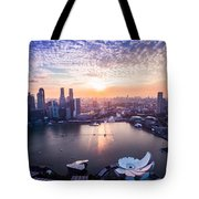 Touch Of Warm Hues Tote Bag