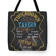 Touchdown Tavern Tote Bag