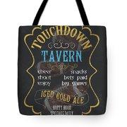 Touchdown Tavern Tote Bag