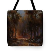 Touched By Light Tote Bag