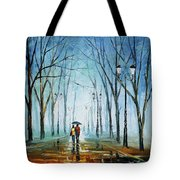 Touching Fog Tote Bag