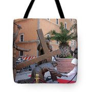 Touching Jesus Tote Bag