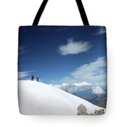 Touching The Clouds Tote Bag