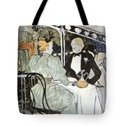 Toulouse-lautrec: Menu Tote Bag