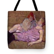 Toulouse Lautrec The Sofa Tote Bag