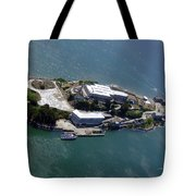 Tour Of Alcatraz Tote Bag