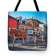 Touring The French Quarter Tote Bag