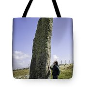 Tourist Admires The Trushal Stone Tote Bag