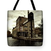 Tourist Office Norrkoping In Old Effect Tote Bag
