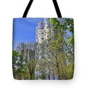 Tours Aillaud Building Tote Bag