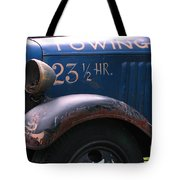 Tow Truck- 4 Tote Bag