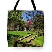 Toward The Cabin Tote Bag