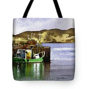 Towards Davaar From Campbeltown Tote Bag