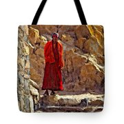Towards Nirvana Impasto Tote Bag