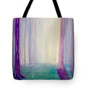 Towards The Light. Tote Bag