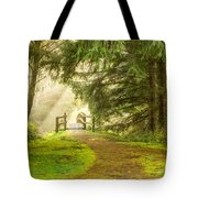 Towards The Light 0020 Tote Bag
