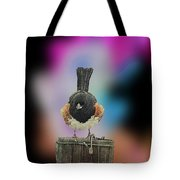 Towee On The Post Tote Bag