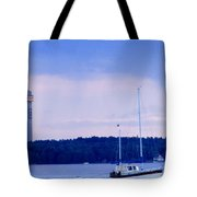 Tower And Masts Tote Bag