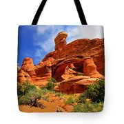 Tower Arch Tote Bag