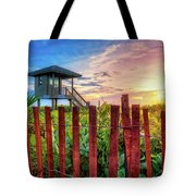 Tower At The Dunes Tote Bag