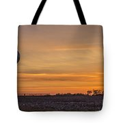 Tower By Sunset Tote Bag