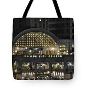 Tower City Close Up Tote Bag
