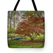 Tower Grove Arched Bridge And Maple Tree Dsc01828 Tote Bag