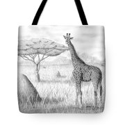 Tower In The Bush Tote Bag