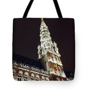 Brussels Tower Light Tote Bag