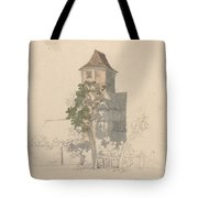 Tower Of A Fortified House [recto] Tote Bag
