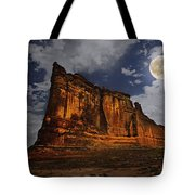 The Midnight Tower Tote Bag