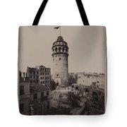Tower Of Galata,  Tote Bag