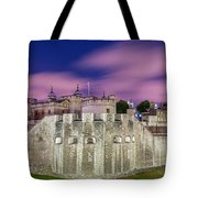 Tower Of London At Dawn Tote Bag