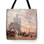 Tower Of London Bridge Tote Bag