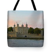 Tower Of London On The Thames Tote Bag