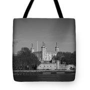 Tower Of London Riverside Tote Bag by Gary Eason